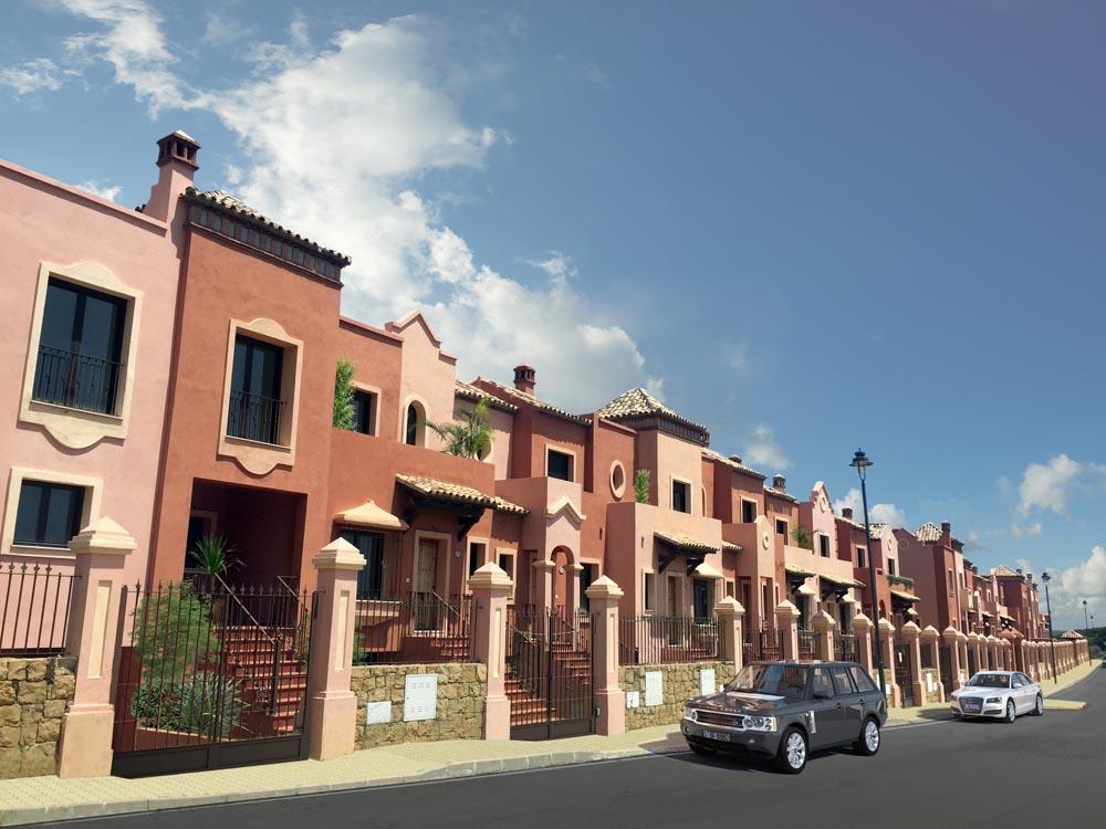 Estepona houses las Villas de Santa Maria