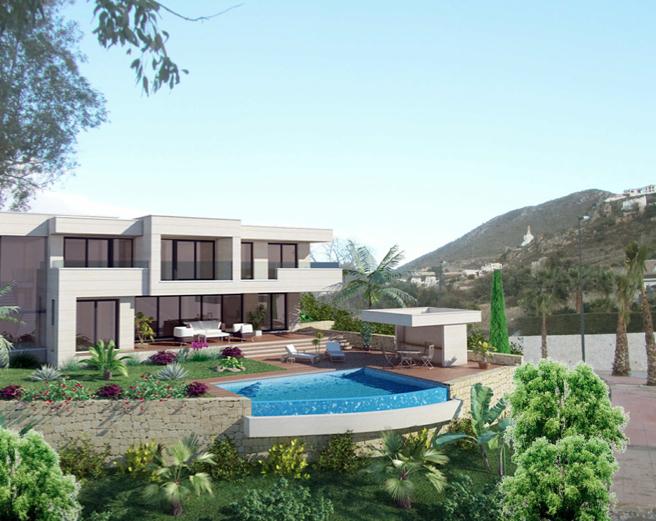Benalmadena villas Rancho Santa Monica