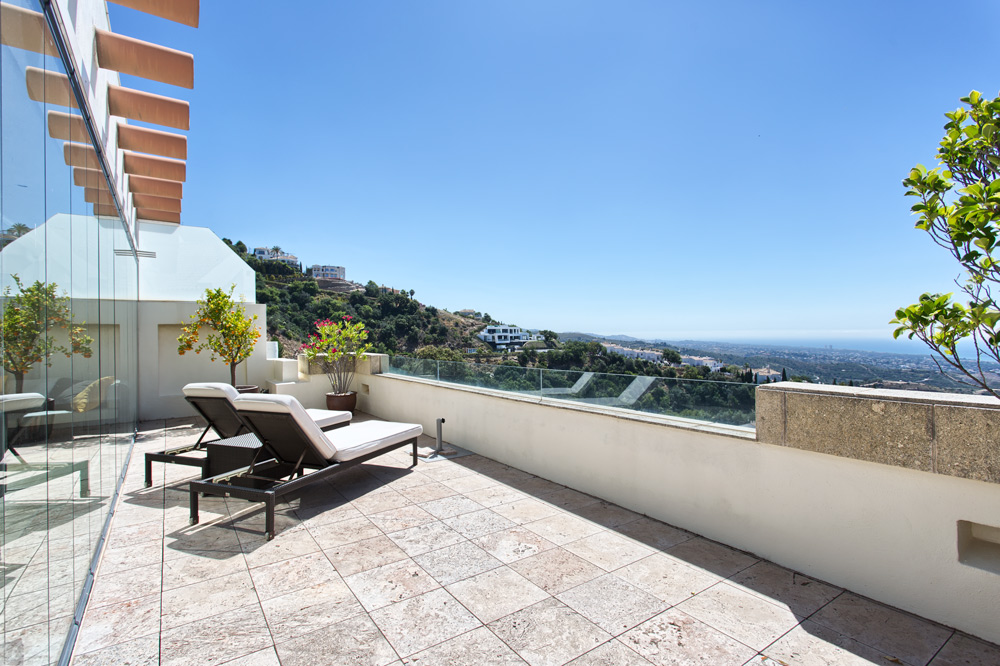 Marbella penthouse Monteros Hill Club