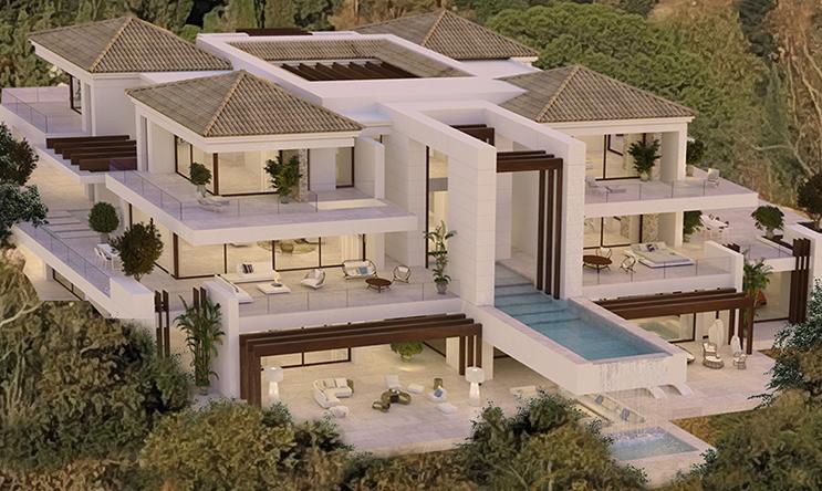 Benahavis villa Los Almendros 360