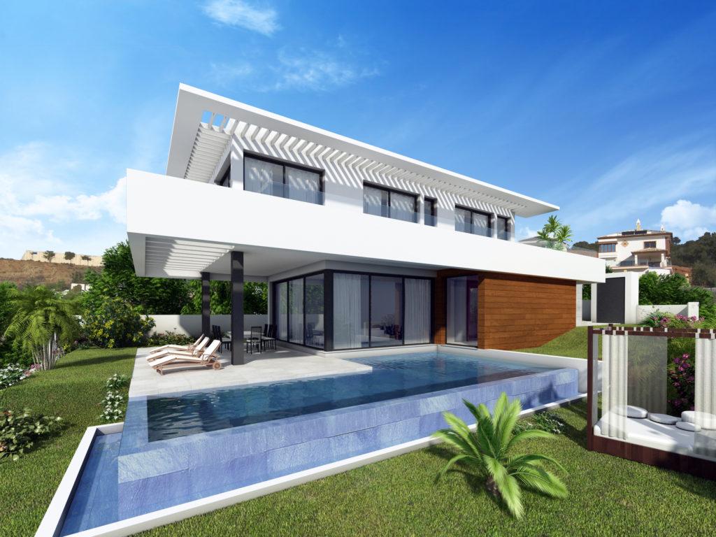 Cabopino villa met zeezicht