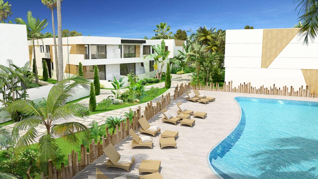 Nueva Andalucia houses Marein