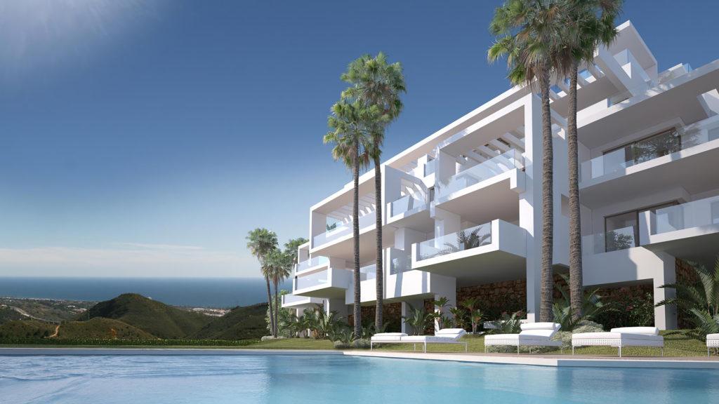 Ojen apartments Los Almendros