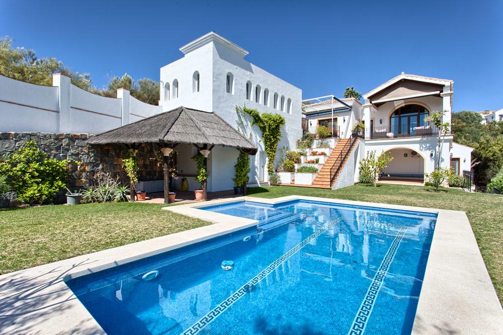 Benahavis villa Los Alcornoques