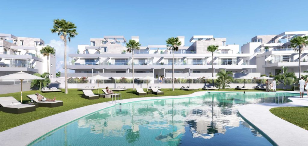 Estepona appartementen Senses Village